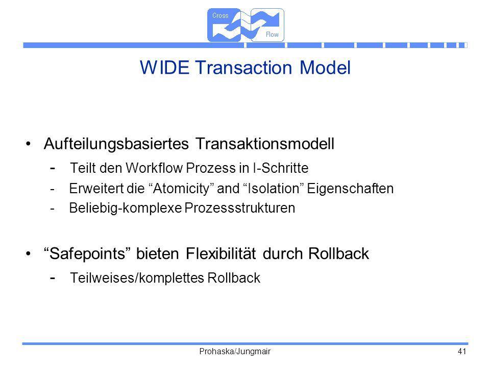 WIDE Transaction Model