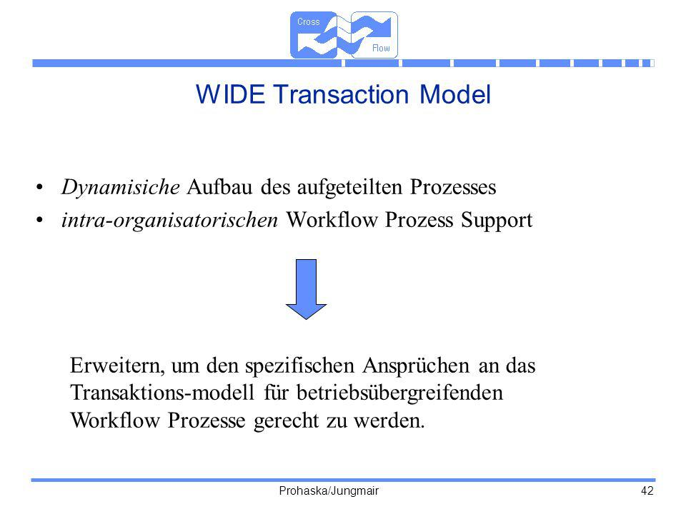 WIDE Transaction Model