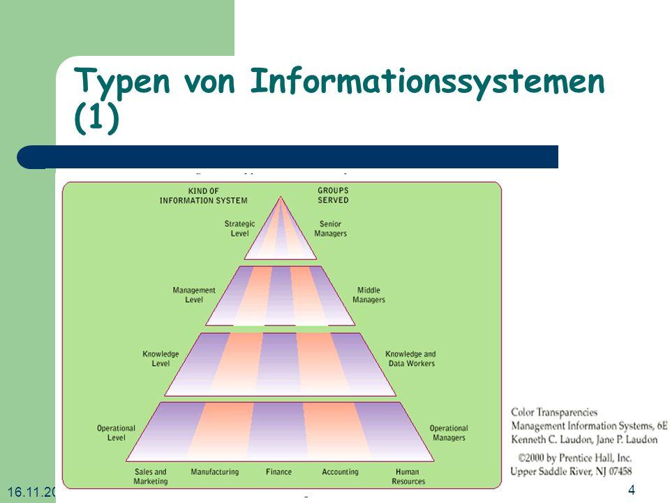 Typen von Informationssystemen (1)