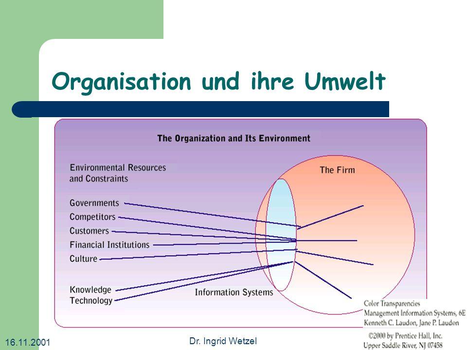Organisation und ihre Umwelt
