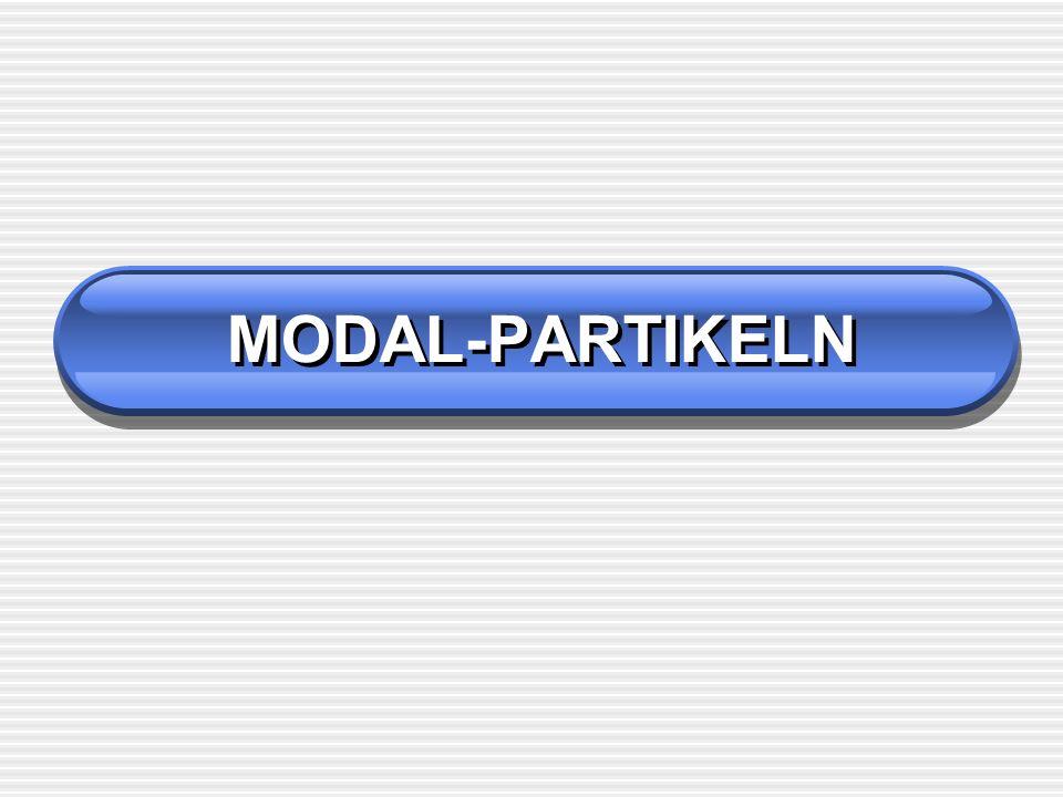 MODAL-PARTIKELN