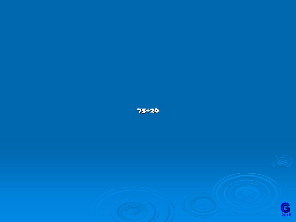 75+26 G 2010