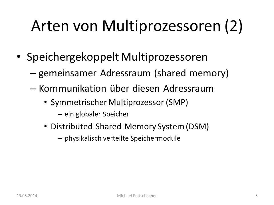 Arten von Multiprozessoren (2)