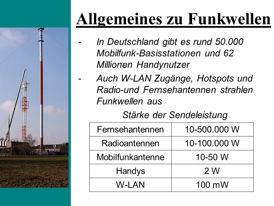 Allgemeines zu Funkwellen
