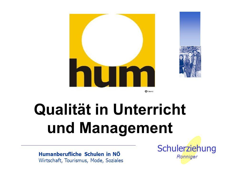 Qualität in Unterricht und Management