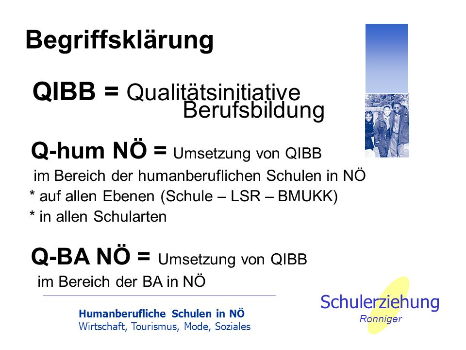 QIBB = Qualitätsinitiative Berufsbildung