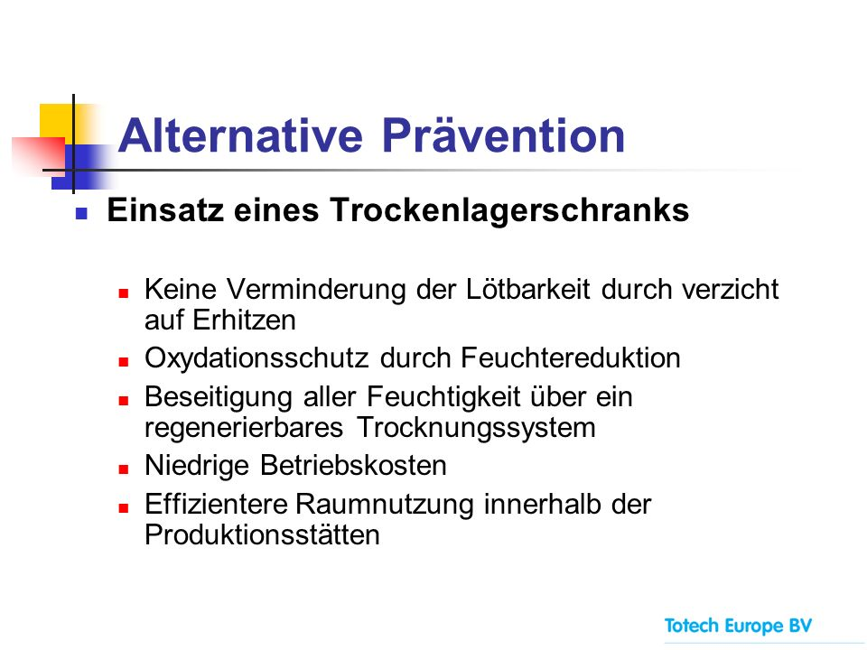 Alternative Prävention