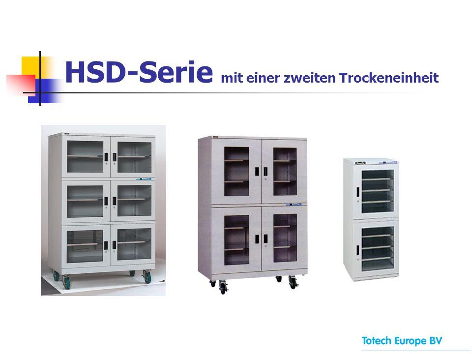 HSD-Serie mit einer zweiten Trockeneinheit