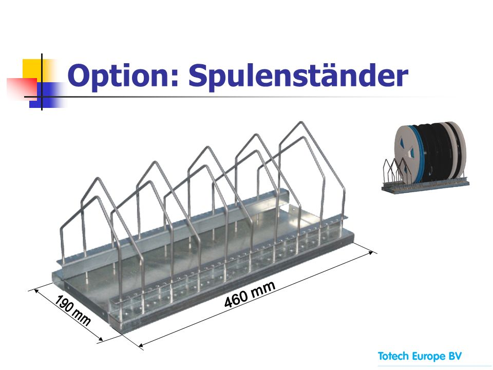 Option: Spulenständer