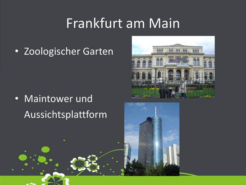 aussichtsplattform frankfurt am main
