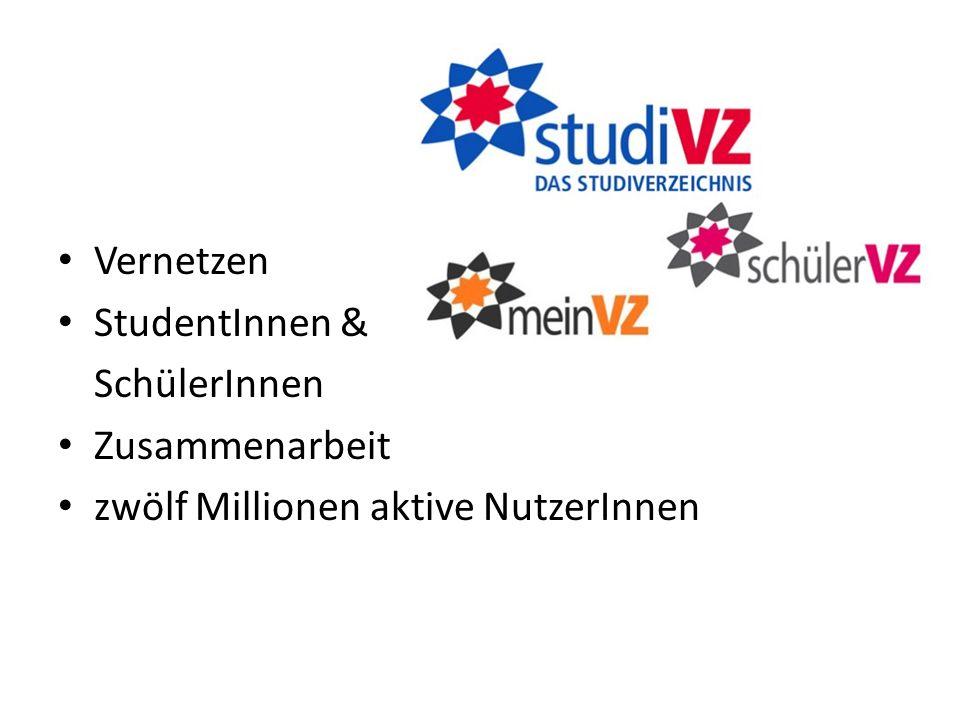 Vernetzen StudentInnen & SchülerInnen Zusammenarbeit zwölf Millionen aktive NutzerInnen