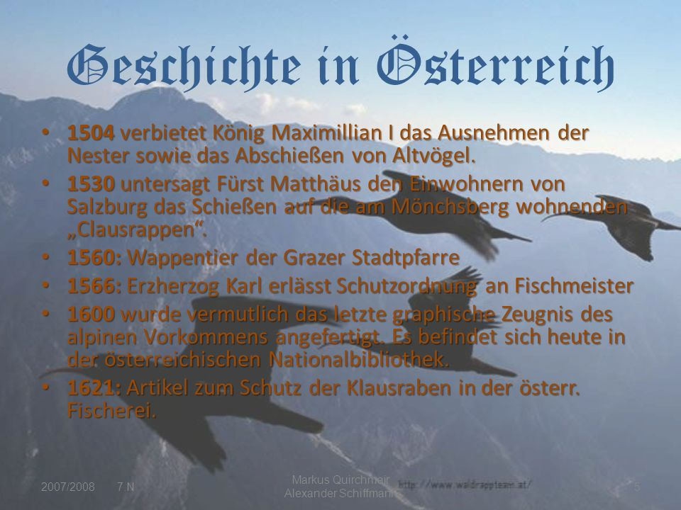 Geschichte in Österreich