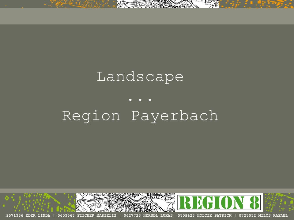 Landscape ... Region Payerbach