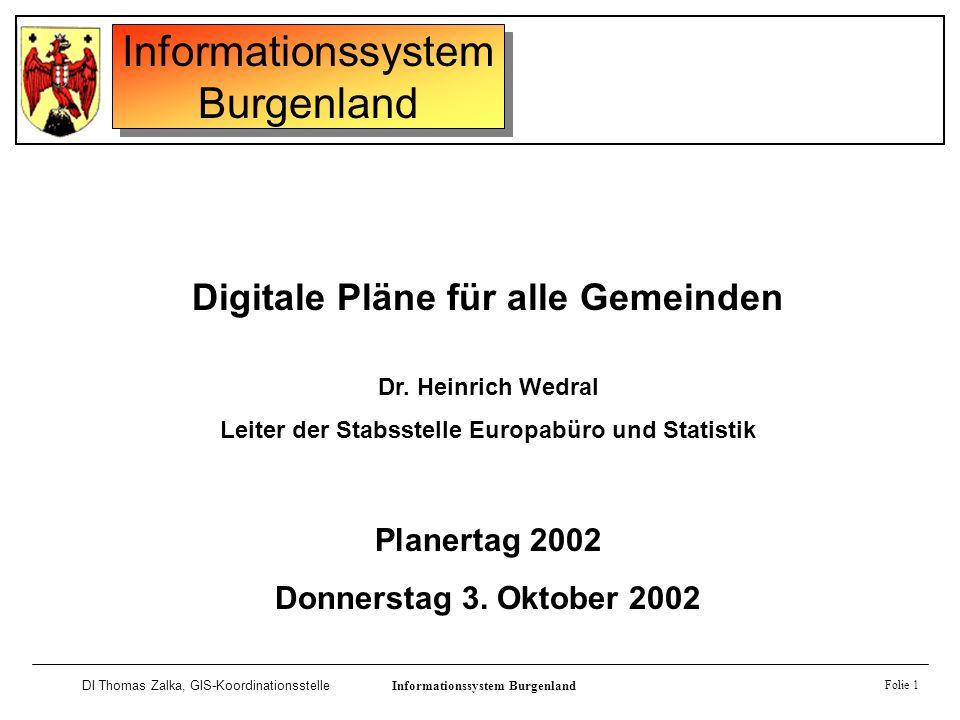 Digitale Pläne für alle Gemeinden