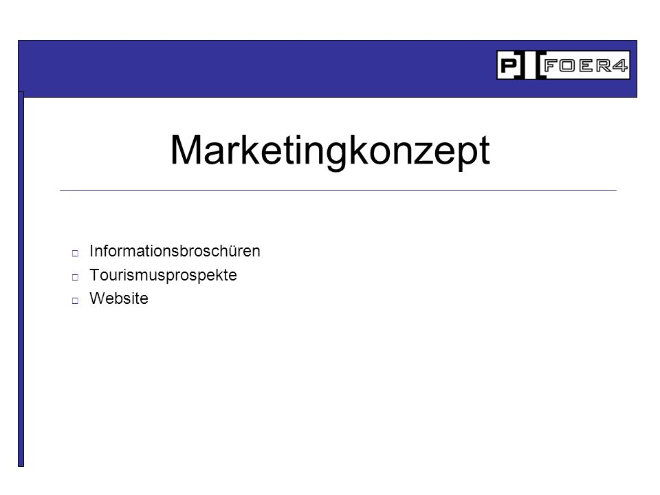 Informationsbroschüren Tourismusprospekte Website