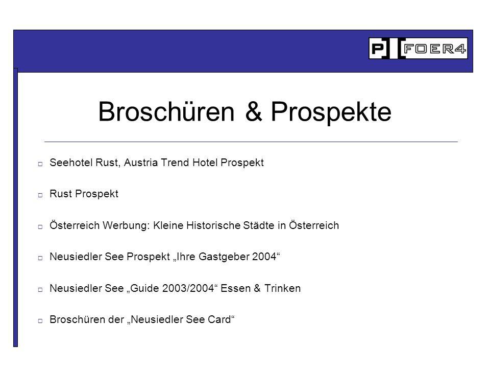 Broschüren & Prospekte