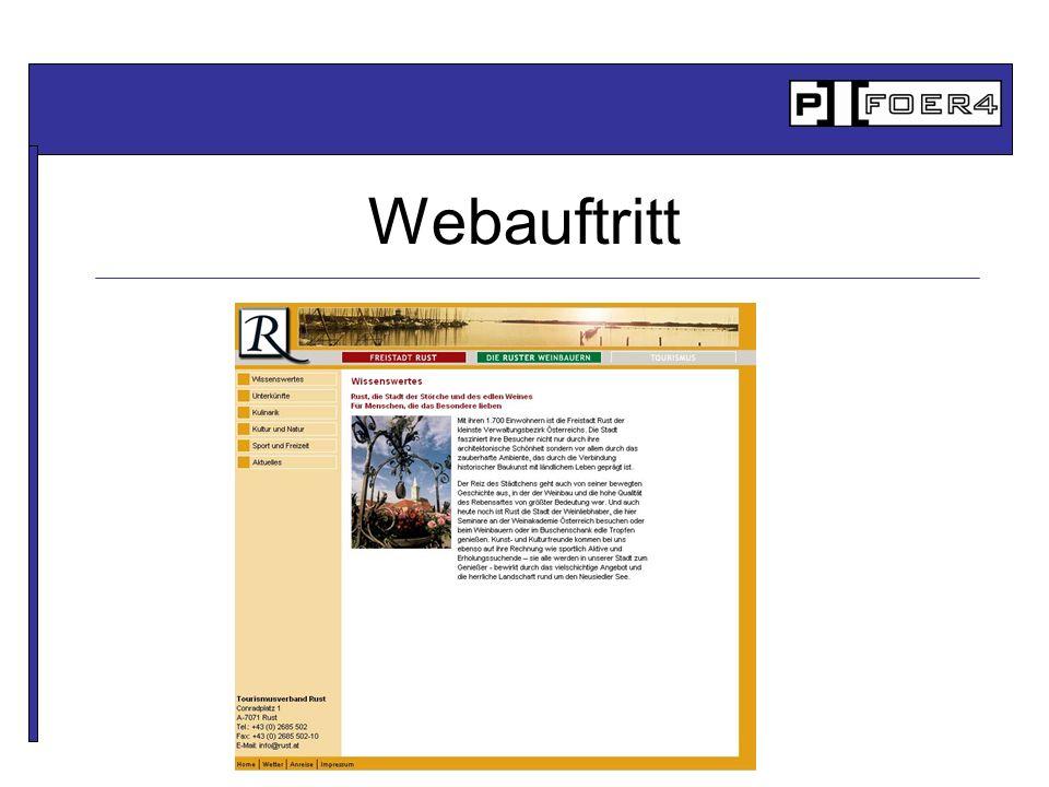 Webauftritt