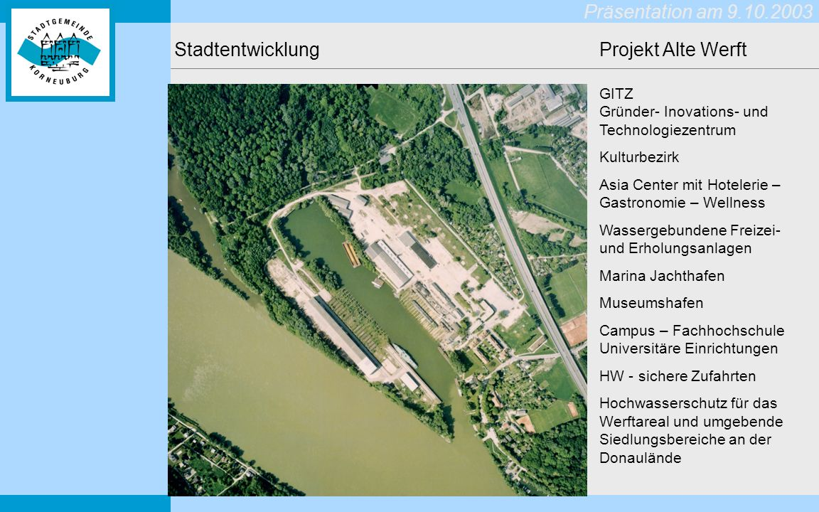 Stadtentwicklung Projekt Alte Werft