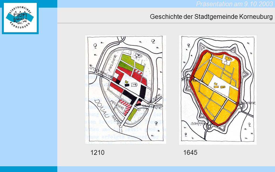 Geschichte der Stadtgemeinde Korneuburg