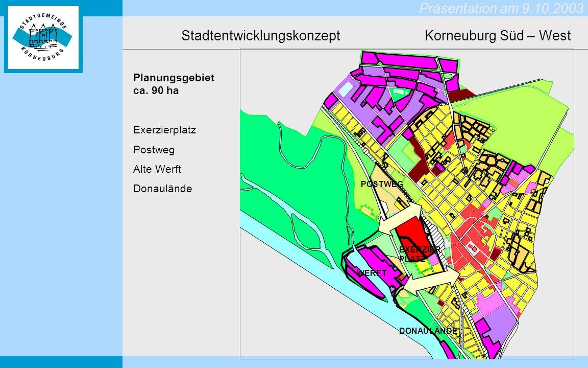 Stadtentwicklungskonzept Korneuburg Süd – West