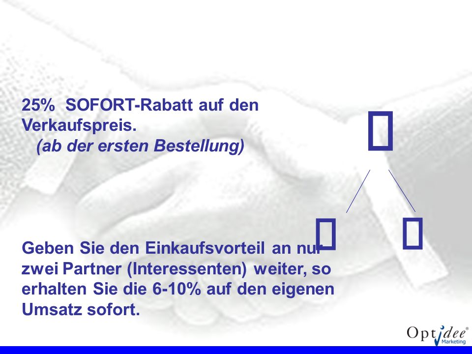 € €  25% SOFORT-Rabatt auf den Verkaufspreis.