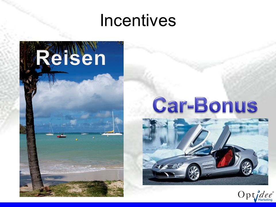 Incentives Reisen Car-Bonus