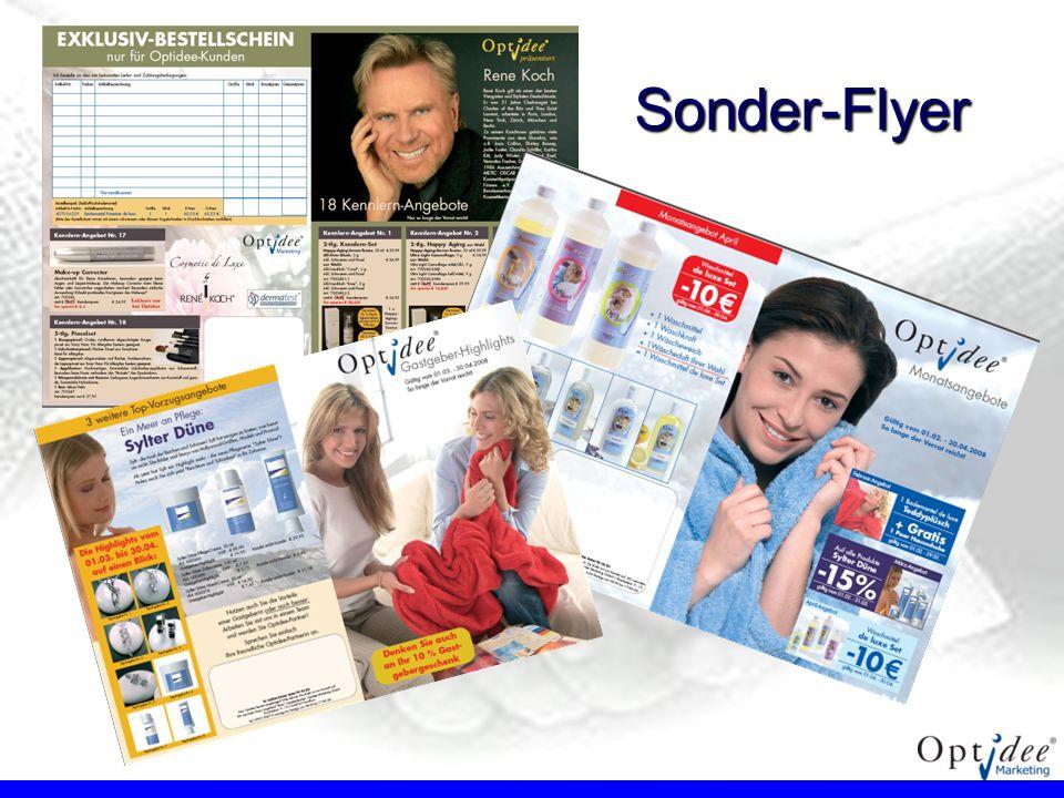 Sonder-Flyer