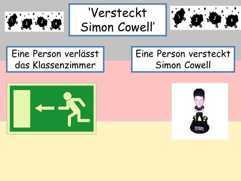 'Versteckt Simon Cowell'