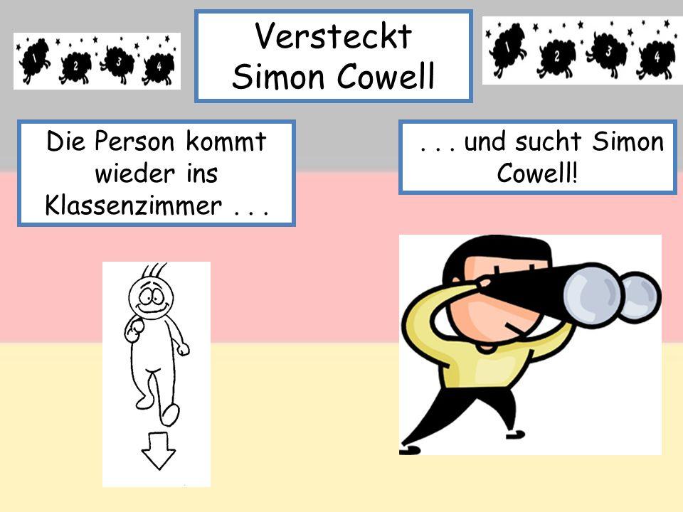 Versteckt Simon Cowell