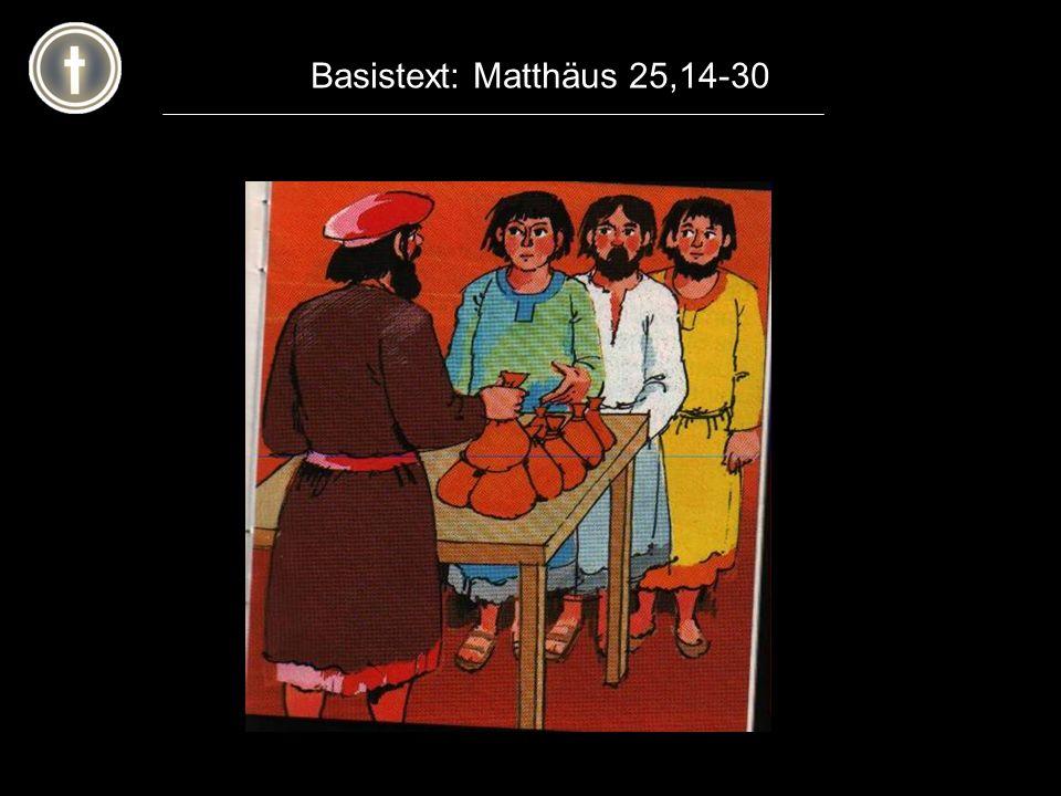 Basistext: Matthäus 25,14-30