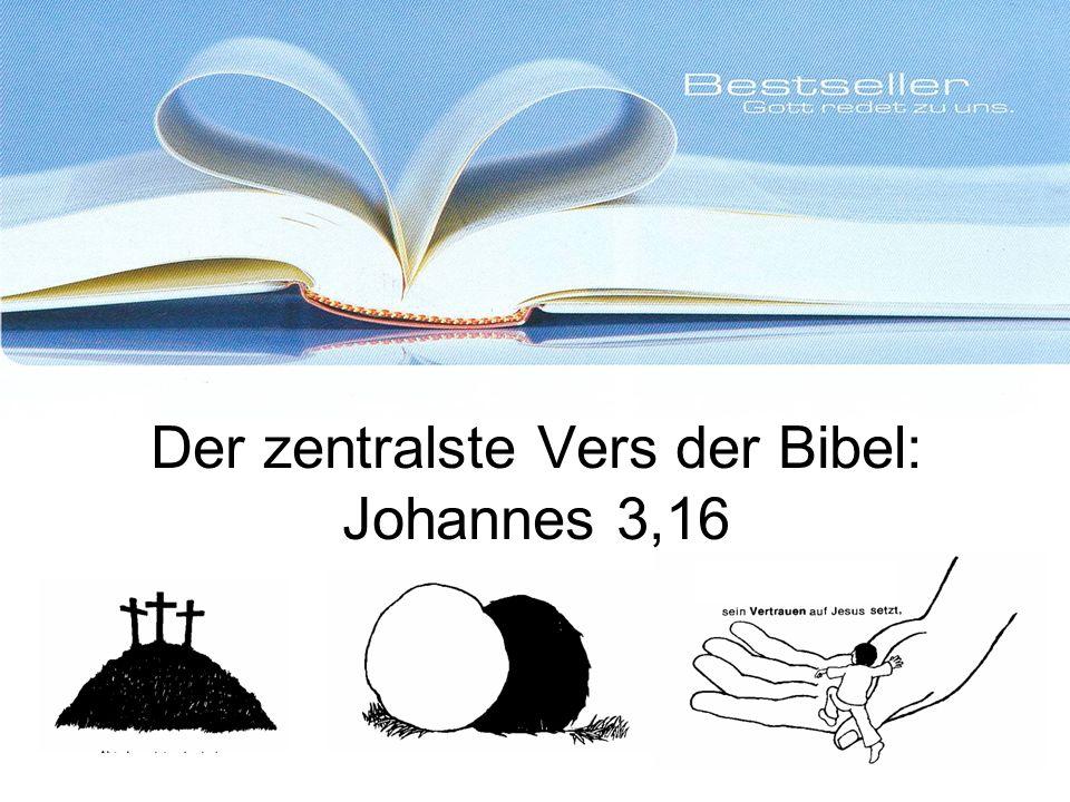 Der zentralste Vers der Bibel: Johannes 3,16