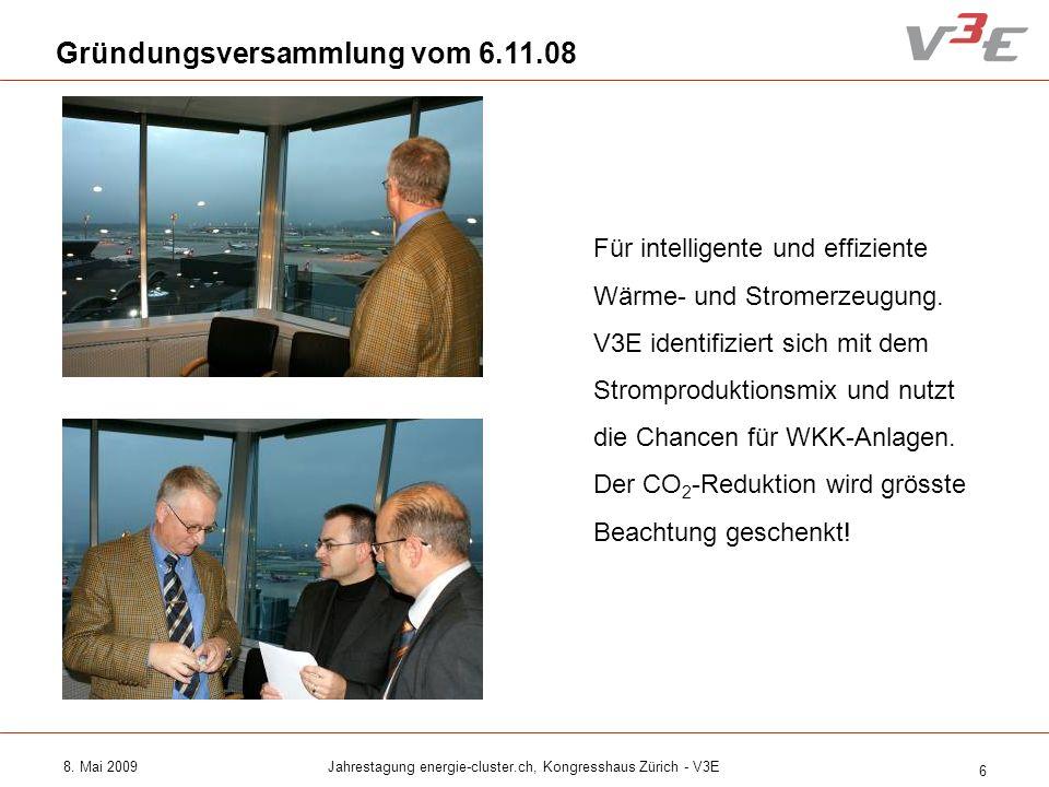 Jahrestagung energie-cluster.ch, Kongresshaus Zürich - V3E