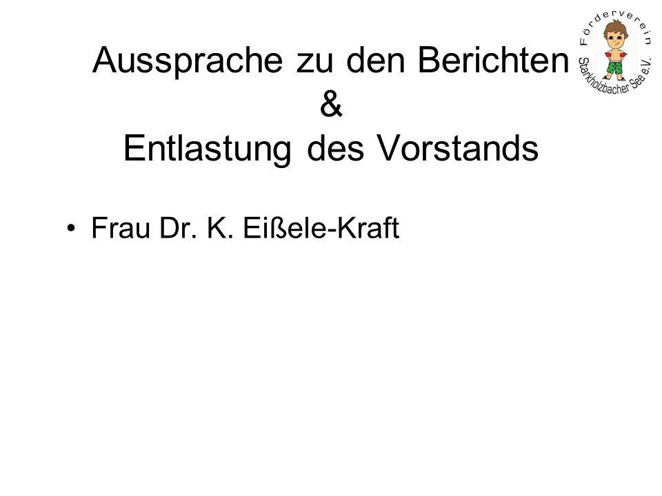 Haushaltsplan 2010 Herr H. Hafner