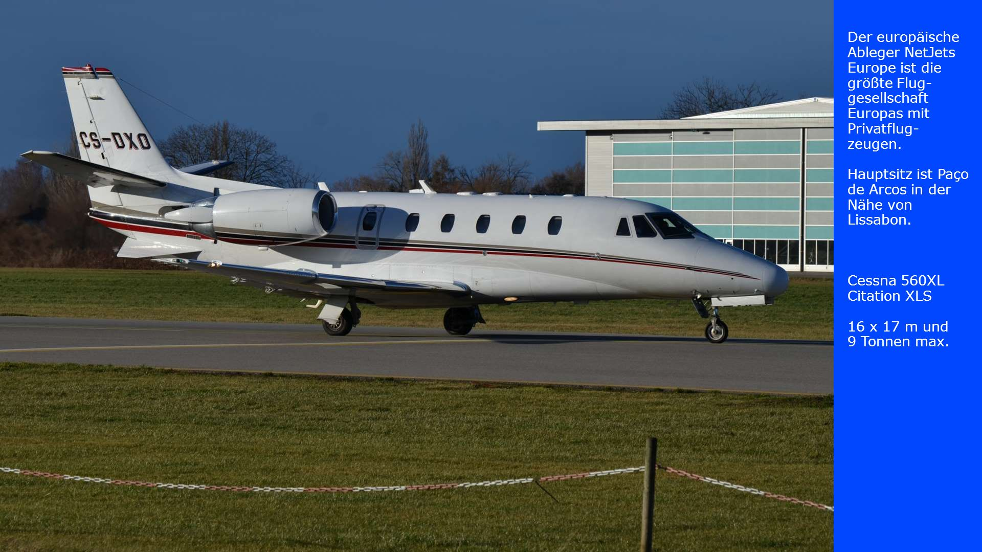 Der europäische Ableger NetJets Europe ist die größte Flug-gesellschaft Europas mit Privatflug-zeugen.
