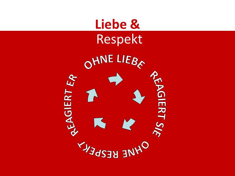 Liebe & Respekt OHNE LIEBE REAGIERT ER REAGIERT SIE OHNE RESPEKT