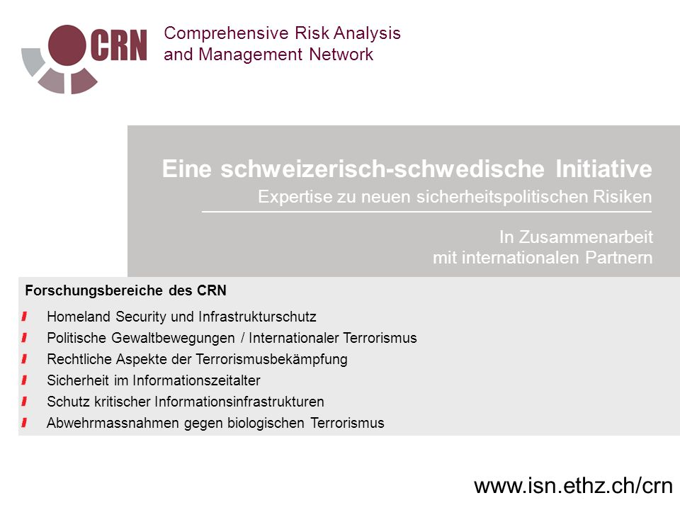 Comprehensive Risk Analysis