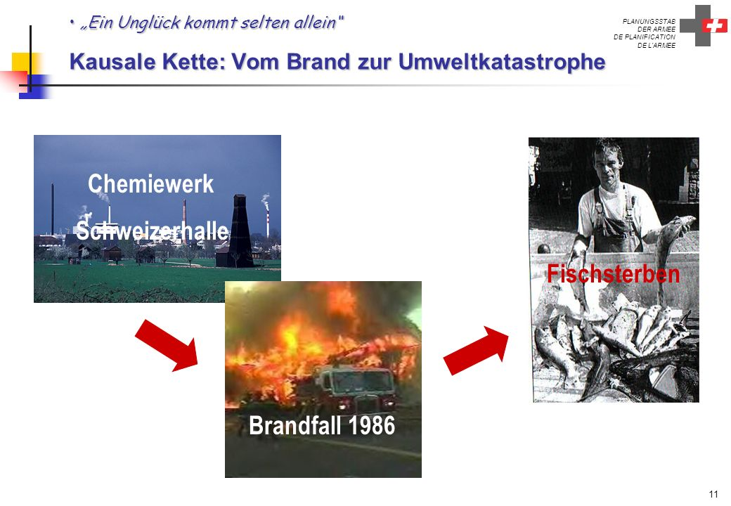 Schweizerhalle Fischsterben Brandfall 1986 Chemiewerk