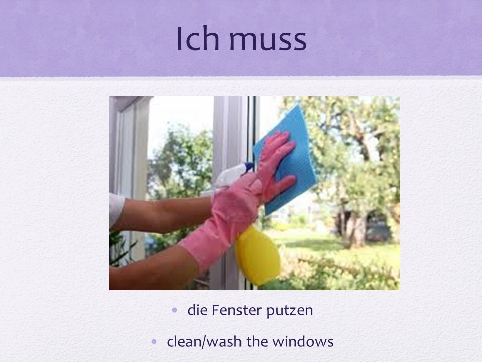 clean/wash the windows
