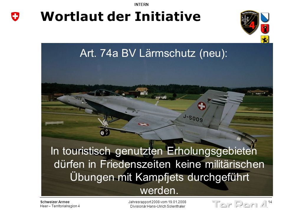Wortlaut der Initiative