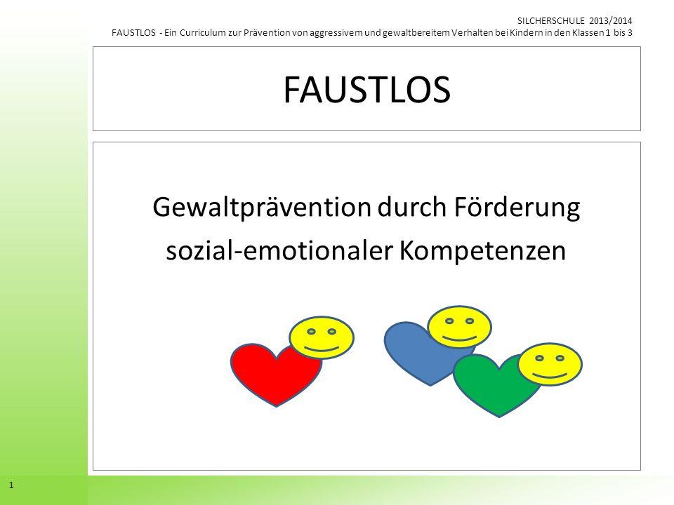 Gewaltprävention durch Förderung sozial-emotionaler Kompetenzen