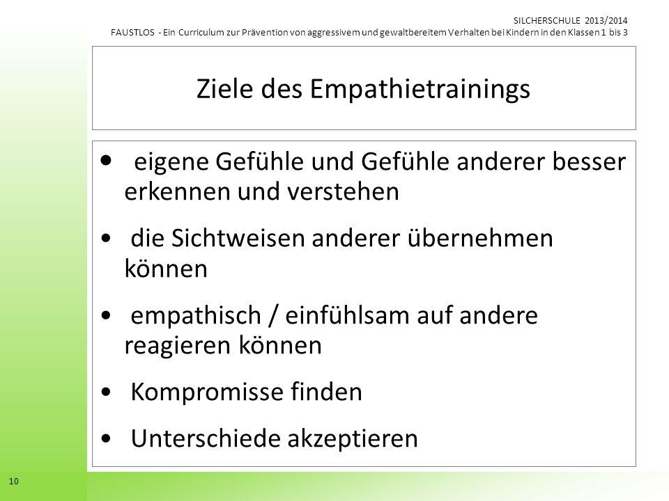 Ziele des Empathietrainings