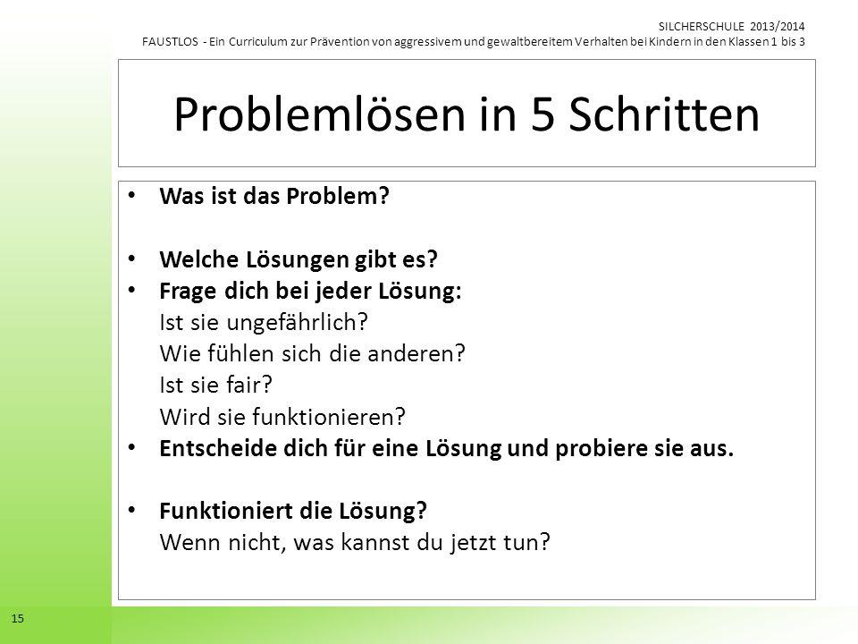 Problemlösen in 5 Schritten