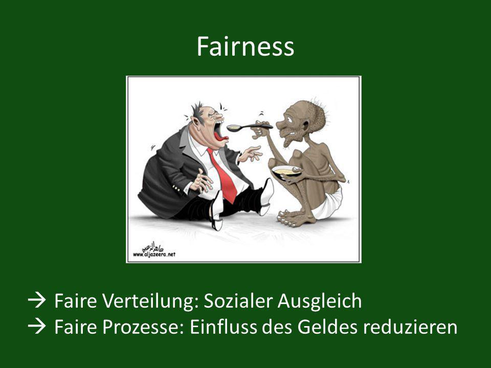 Fairness Faire Verteilung: Sozialer Ausgleich