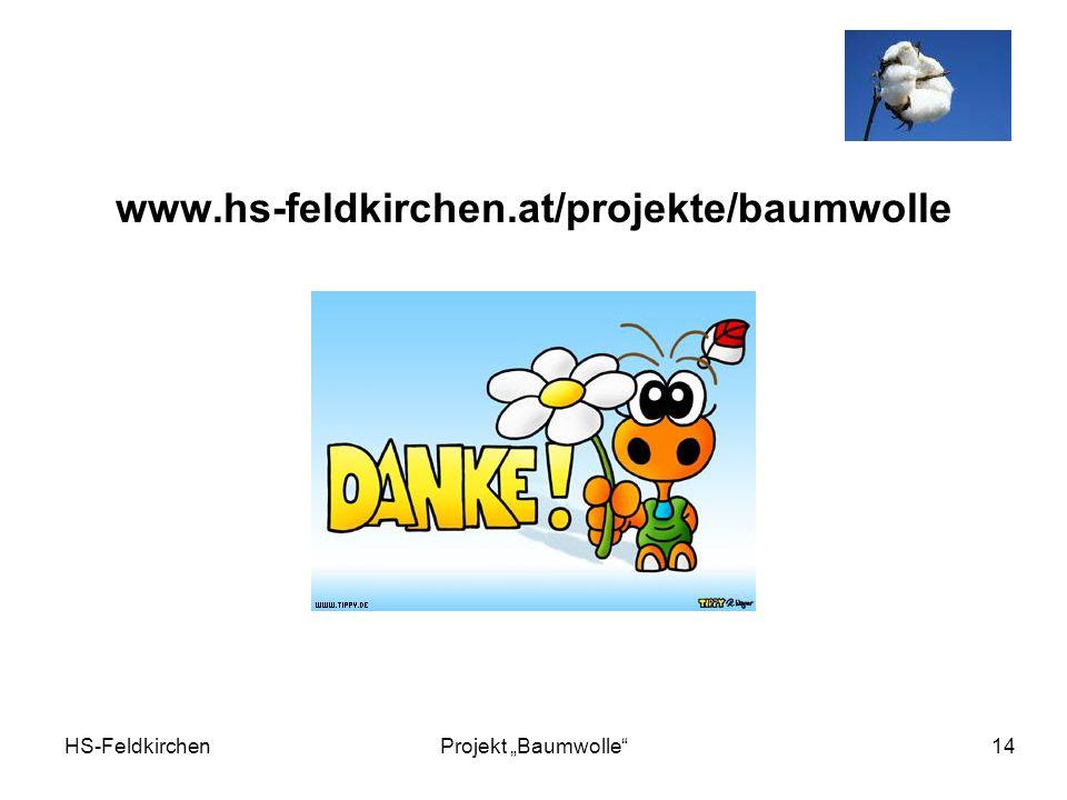 www.hs-feldkirchen.at/projekte/baumwolle HS-Feldkirchen