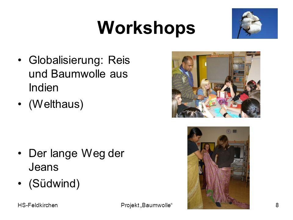 Workshops Globalisierung: Reis und Baumwolle aus Indien (Welthaus)