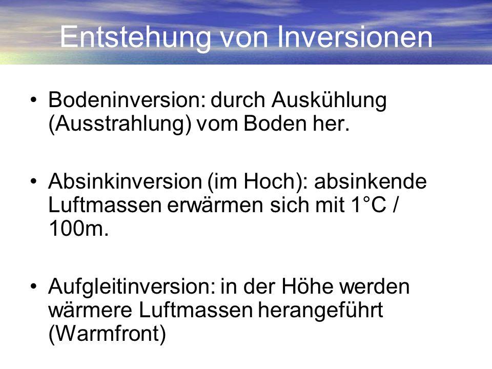 Entstehung von Inversionen