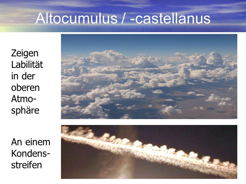 Altocumulus / -castellanus