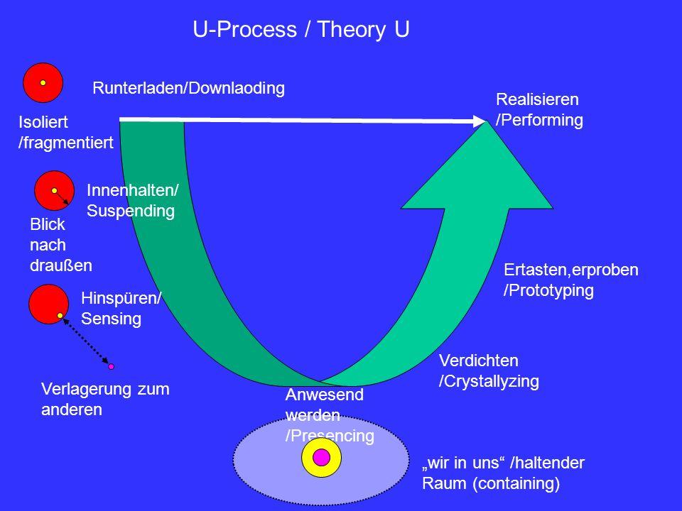 U-Process / Theory U Runterladen/Downlaoding Realisieren /Performing