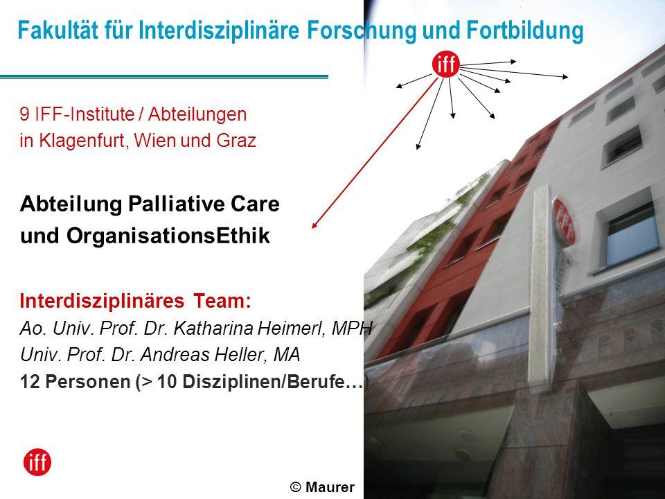 Fakultät für Interdisziplinäre Forschung und Fortbildung