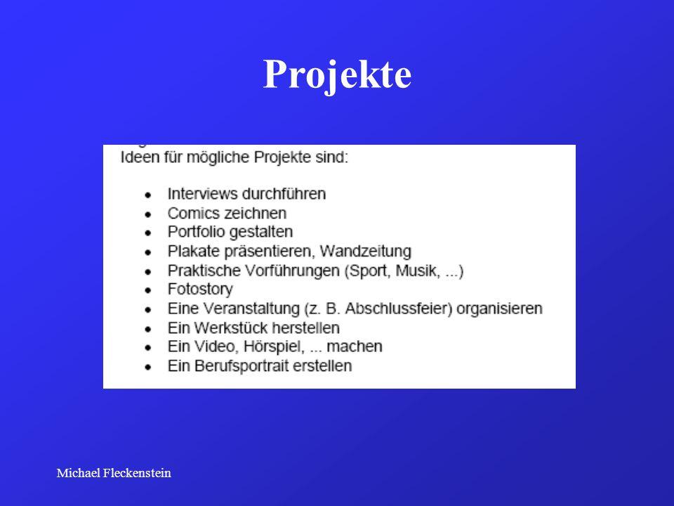 Projekte Michael Fleckenstein